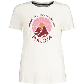 Maloja RanunchelM. T-shirt Dames, vintage white